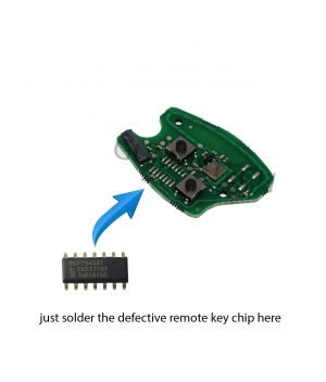 Dacia Sandero-LoganDuster RemoteRepairBoard-dacia-remote-repair-board-pcb-circuit-sandero-logan-duster-2button-pcf7946at-id46-oem-original-after-market-front
